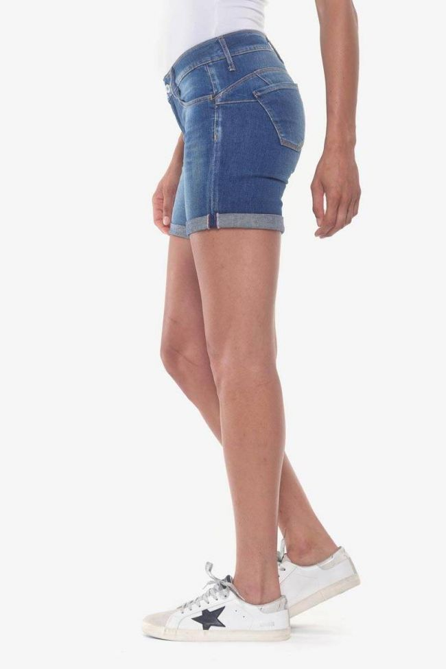 Short en jeans pulp bleu