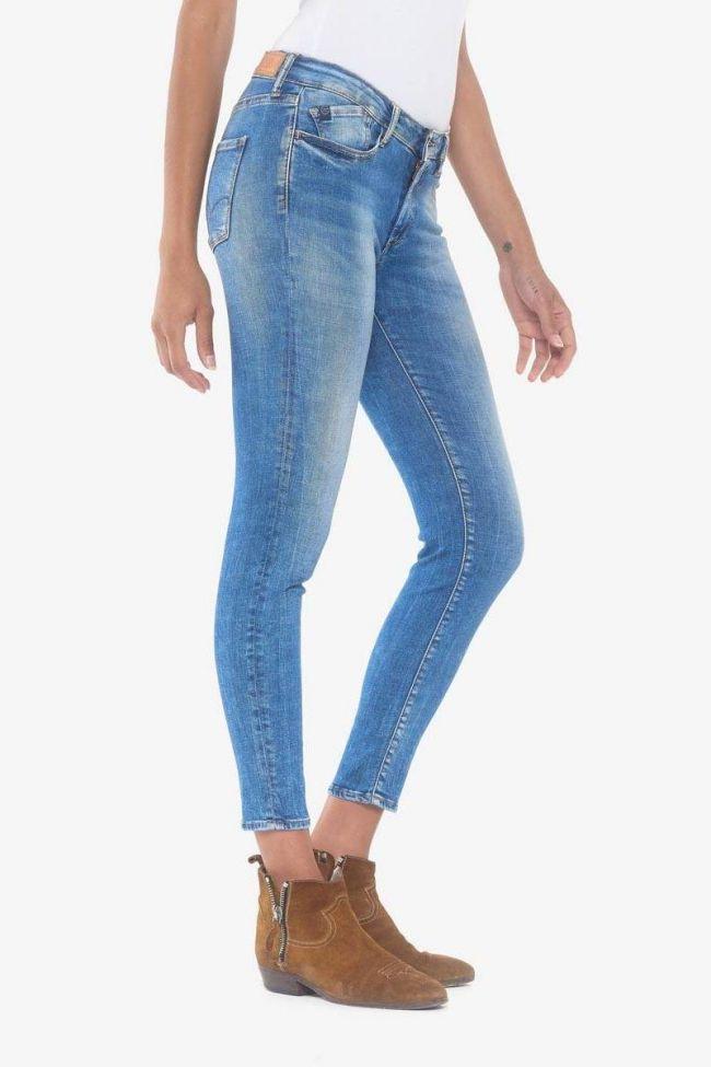 Power skinny 7/8ème jeans bleu N°3