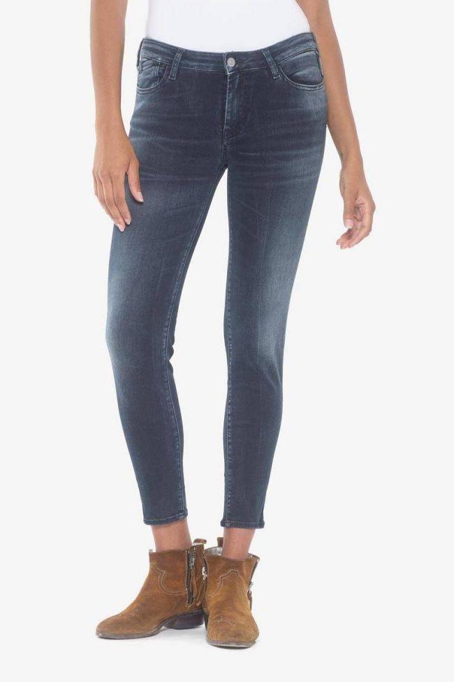 Power skinny 7/8ème jeans bleu-noir N°2