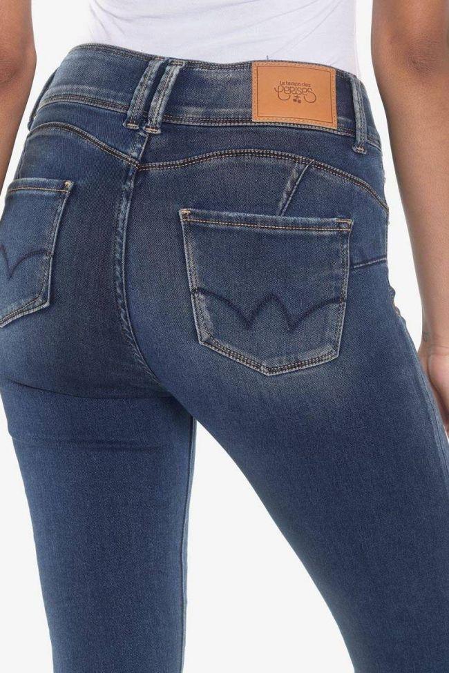 Via ultra pulp slim high waist 7/8th jeans blue N°4