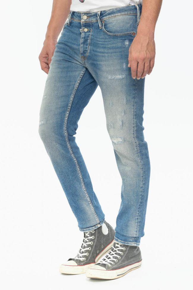 Iraun 600/17 adjusted jeans destroy bleu N°4