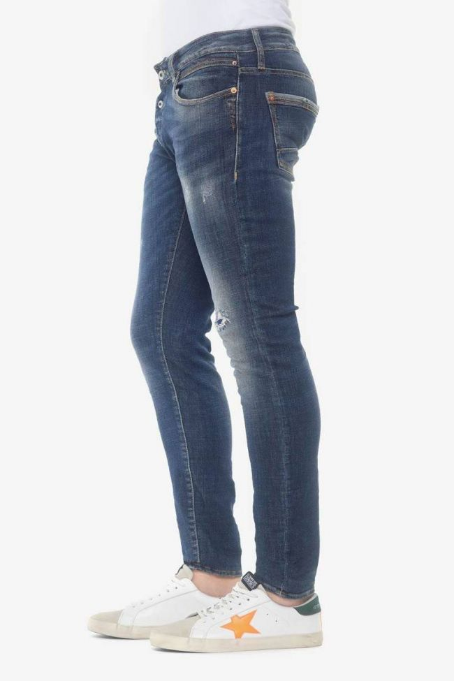 Gazhar 700/11 slim jeans destroy bleu N°2