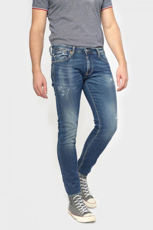 Jogg 700/11 slim jeans destroy bleu N°2