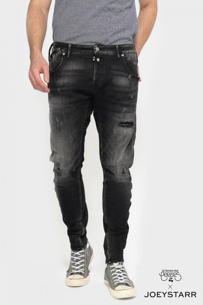 Jagg tapered arched jeans black N°1 by JoeyStarr