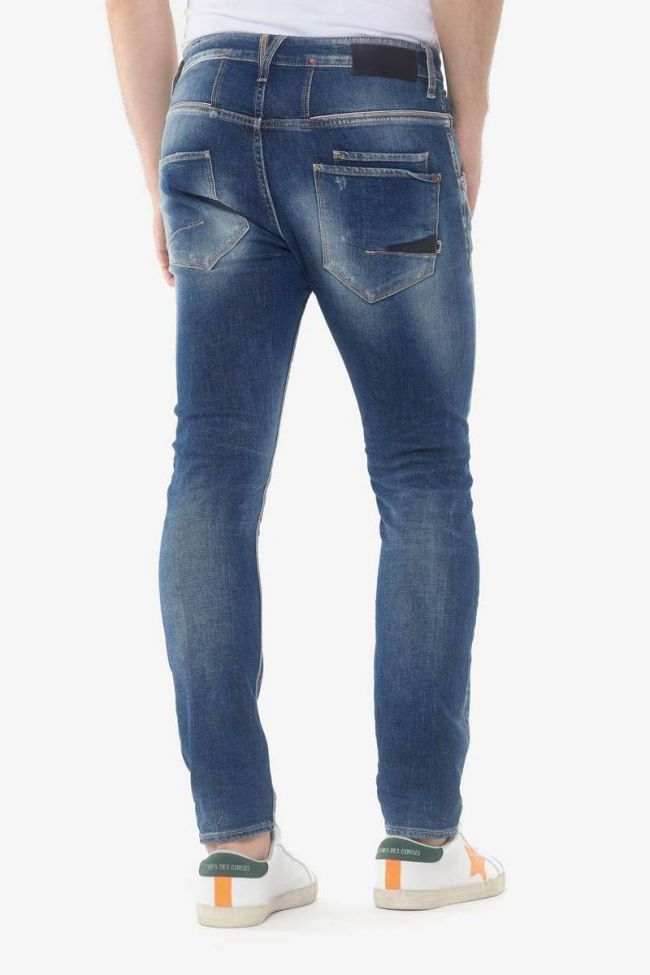 Taniel 900/16 tapered 7/8th jeans destroy blue N°3