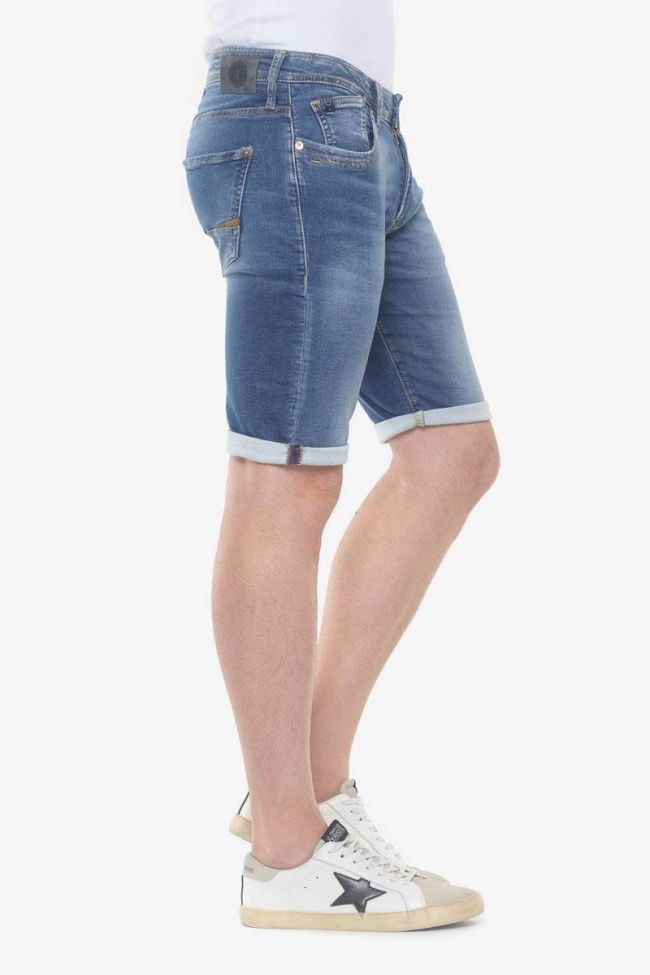 Stonewashed blue Lo Jogg bermuda shorts