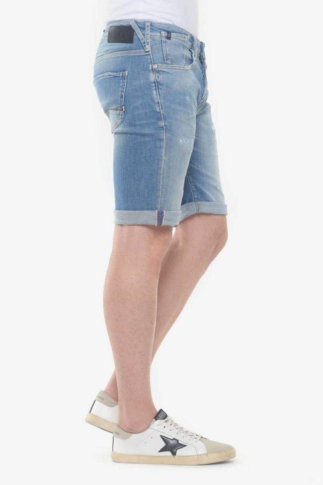 Destroy stonewashed light blue Laredo Jogg bermuda shorts