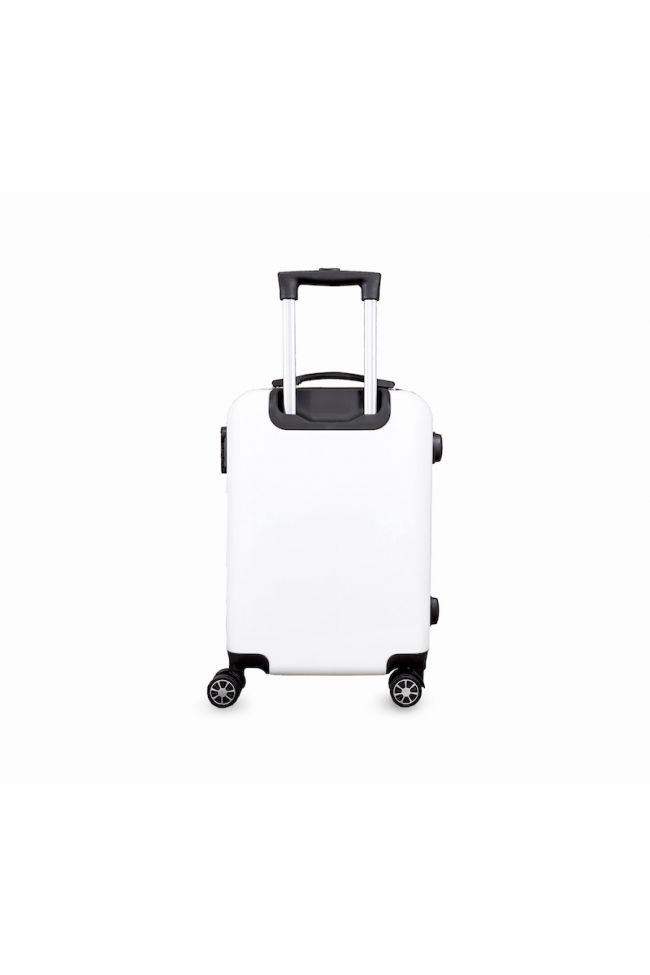 Valise Plume Ana Rêve blanche extensible