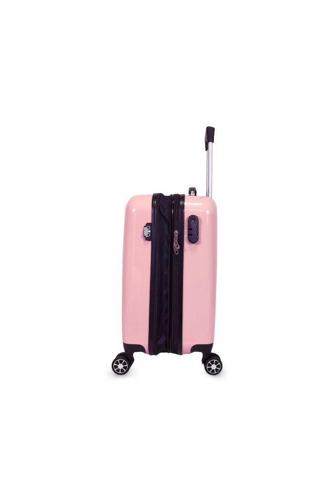 Set de 3 valises Plume Ana Rêve roses extensibles