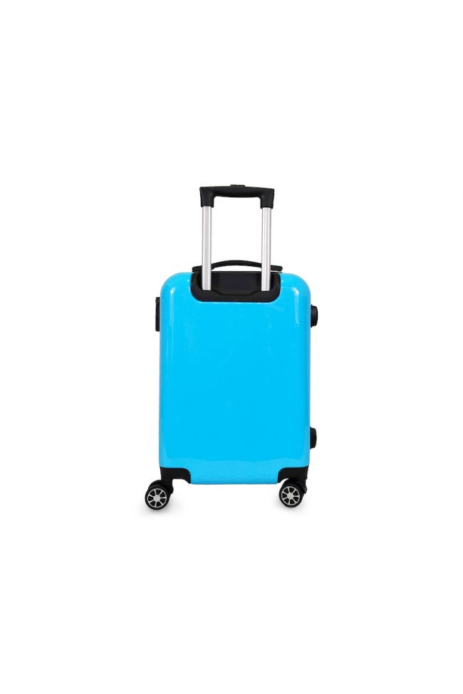 Valise Saya Plume bleue extensible