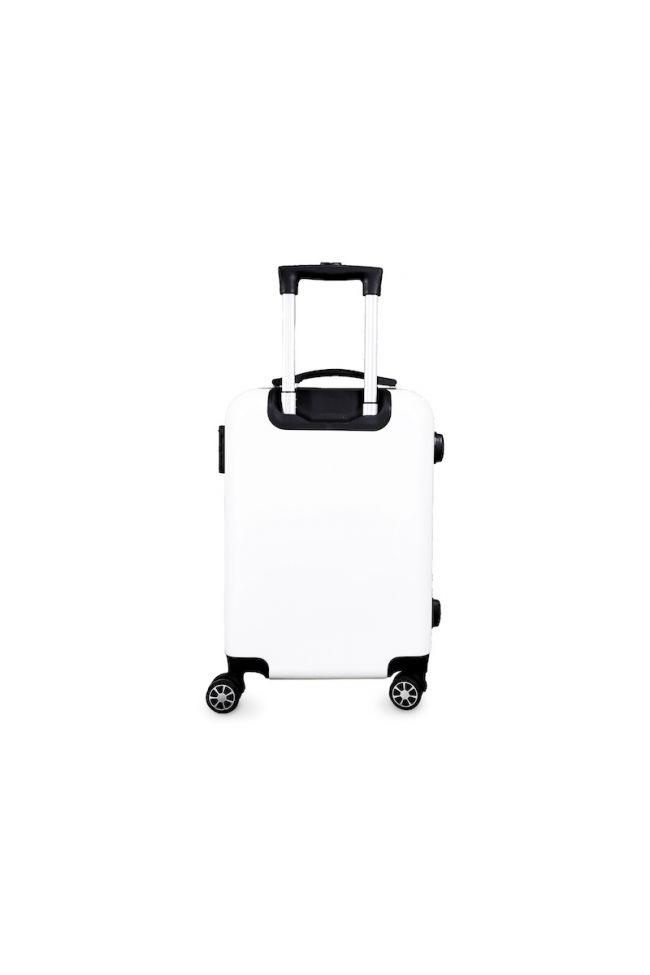 Valise Sia blanche extensible
