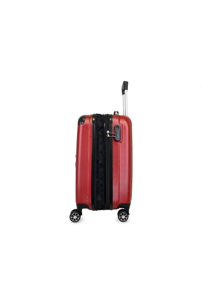 Valise Victoria rouge extensible