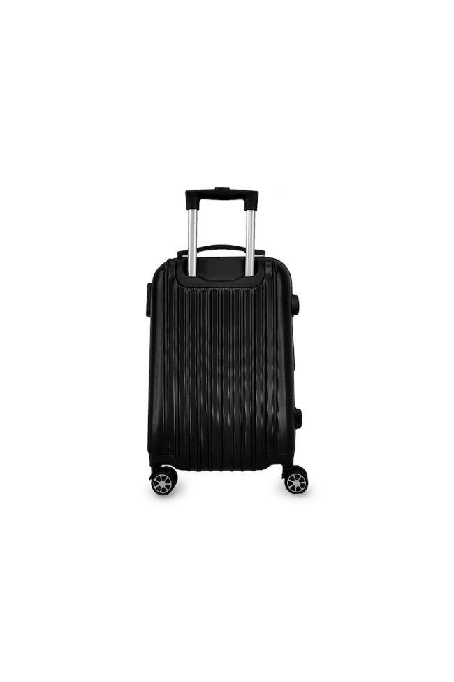 Set de 3 valises Victoria noires extensibles