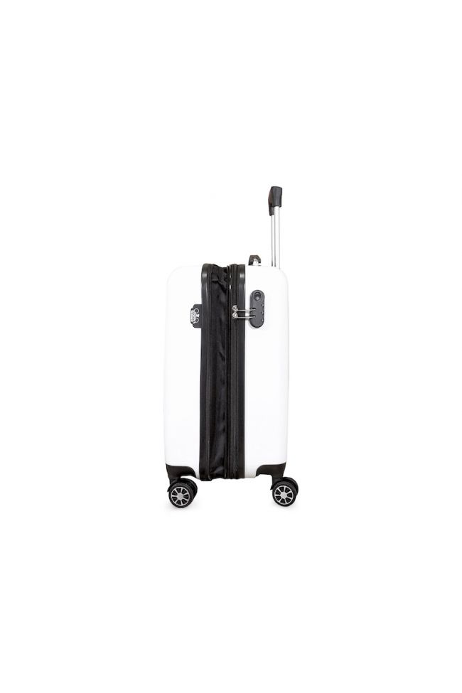 Valise Yna blanche extensible