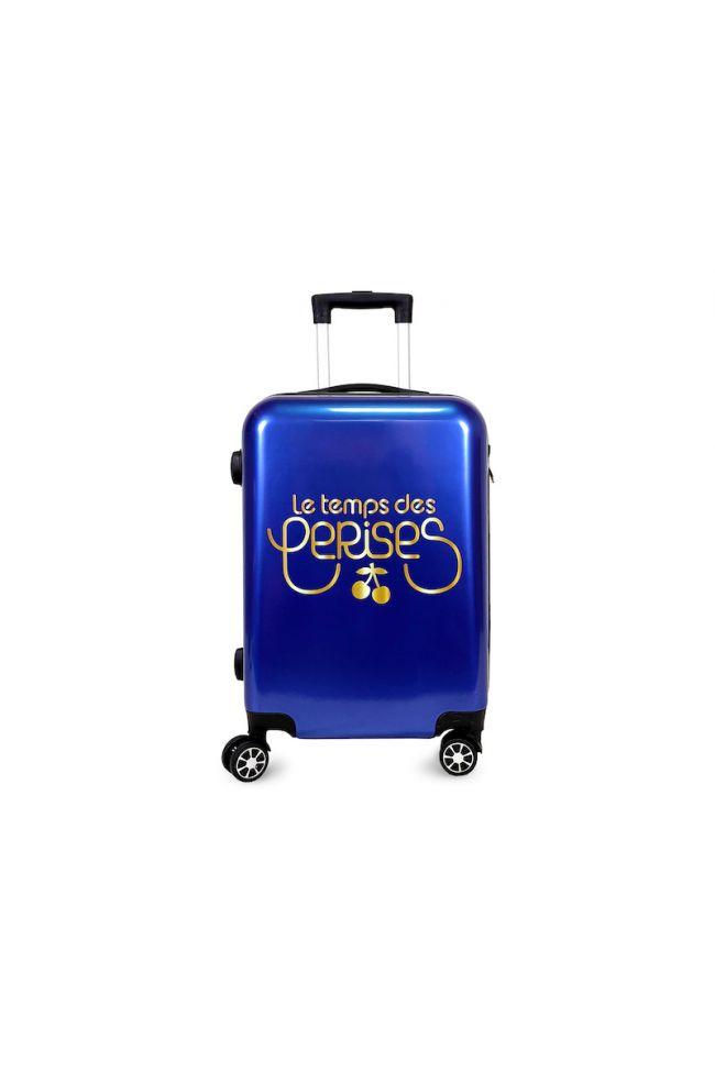 Set de 3 valises Yna bleues extensibles