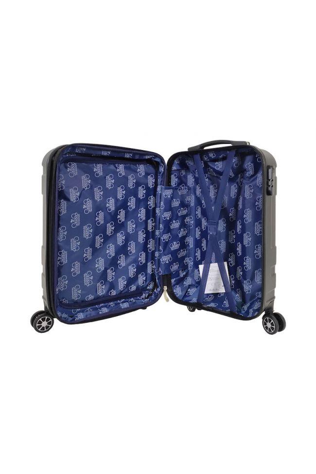 Set de 3 valises Lyra noires extensibles