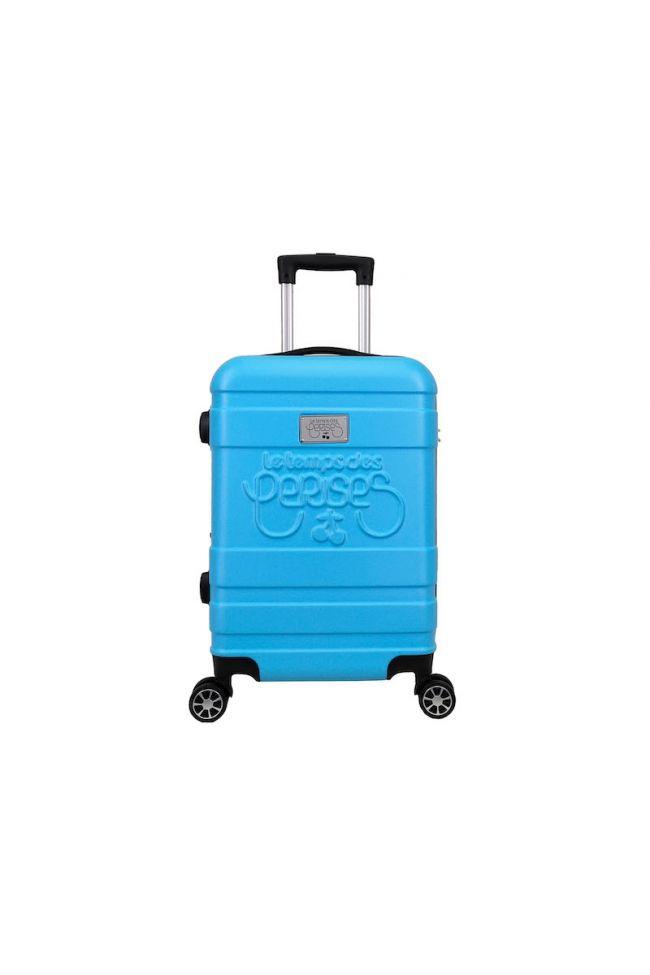 Set de 3 valises Lyra bleues extensibles