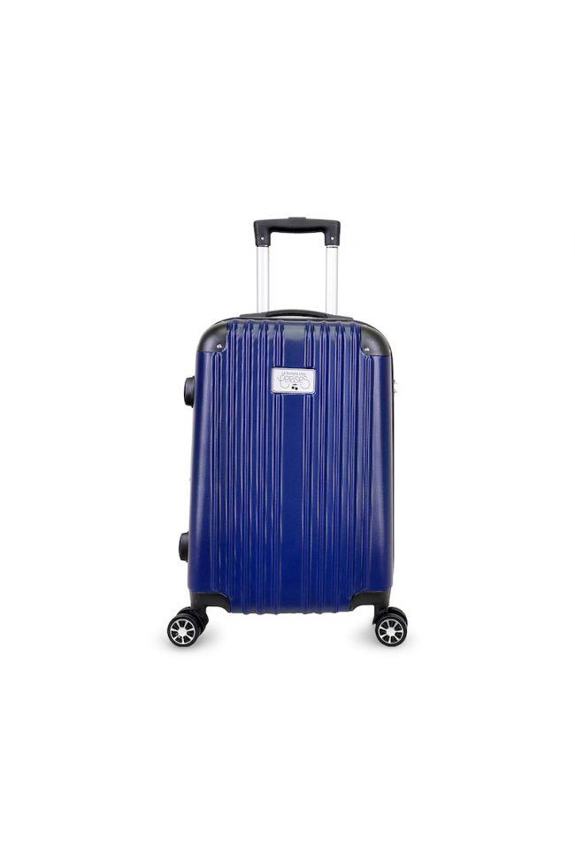 Set de 3 valises Nela bleues extensibles