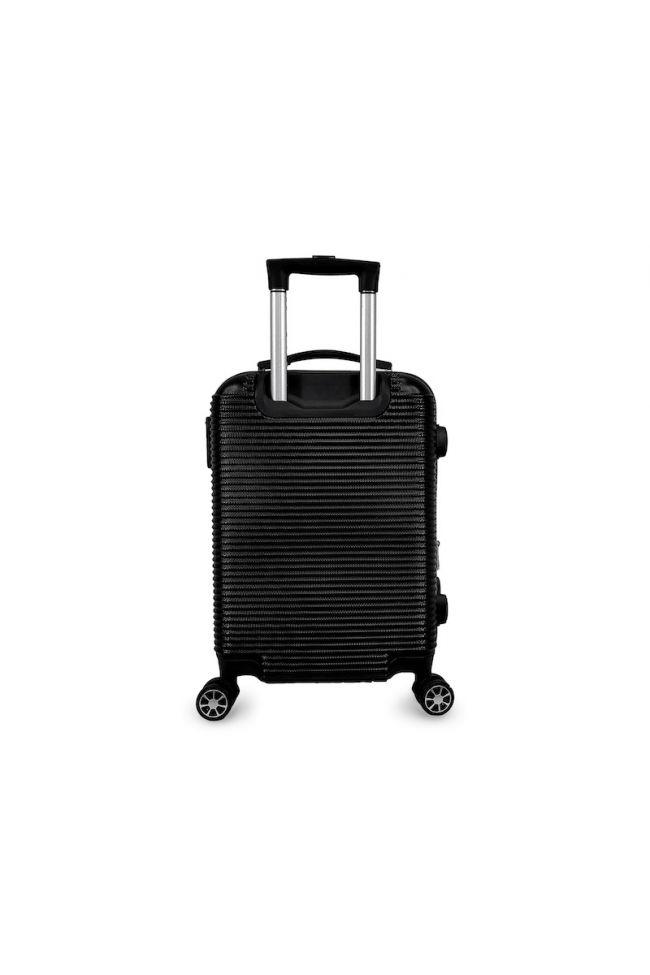 Set de 2 valises Maysa noires extensibles