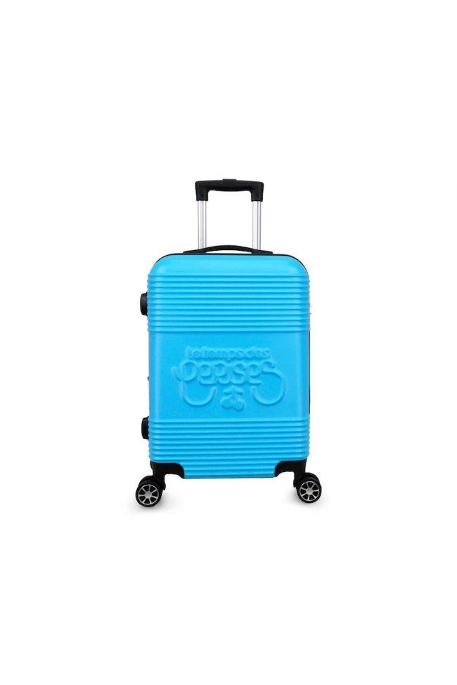 Set de 2 valises Maysa bleues extensibles
