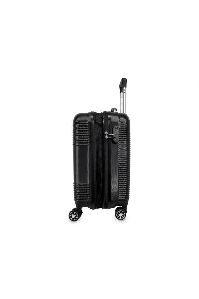 Set de 3 valises Maysa noires extensibles