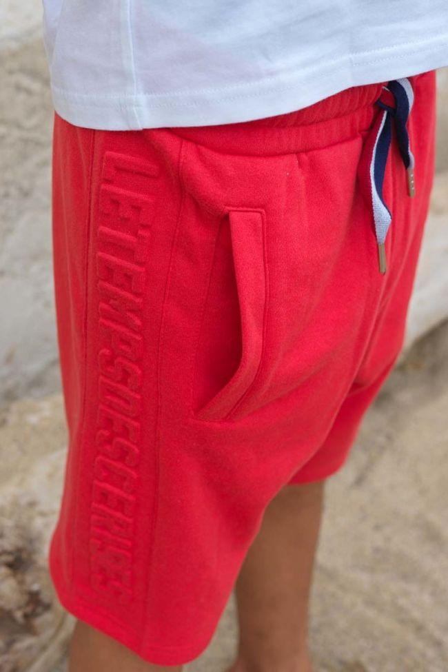 Red Milanbo jogging bermuda shorts