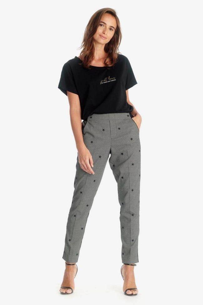Black Elea trousers