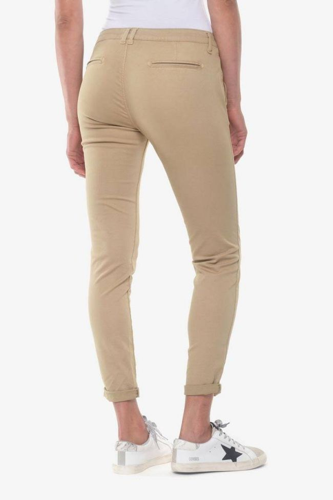 Beige Lidy8 Chino trousers