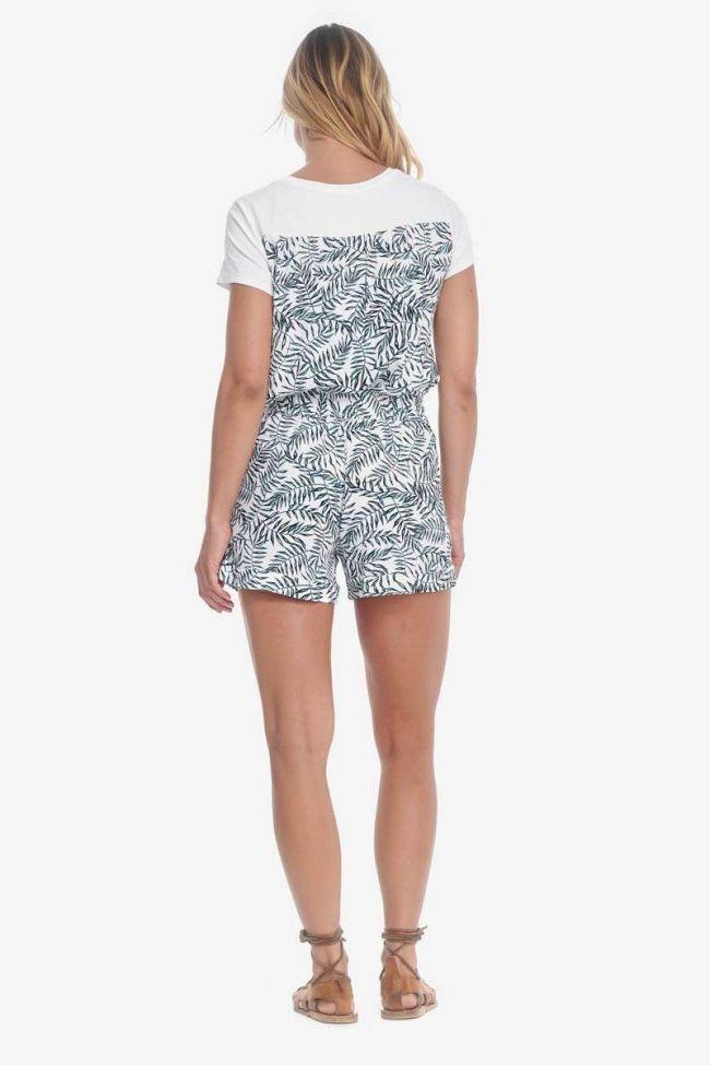 Mineo shorts with jungle pattern