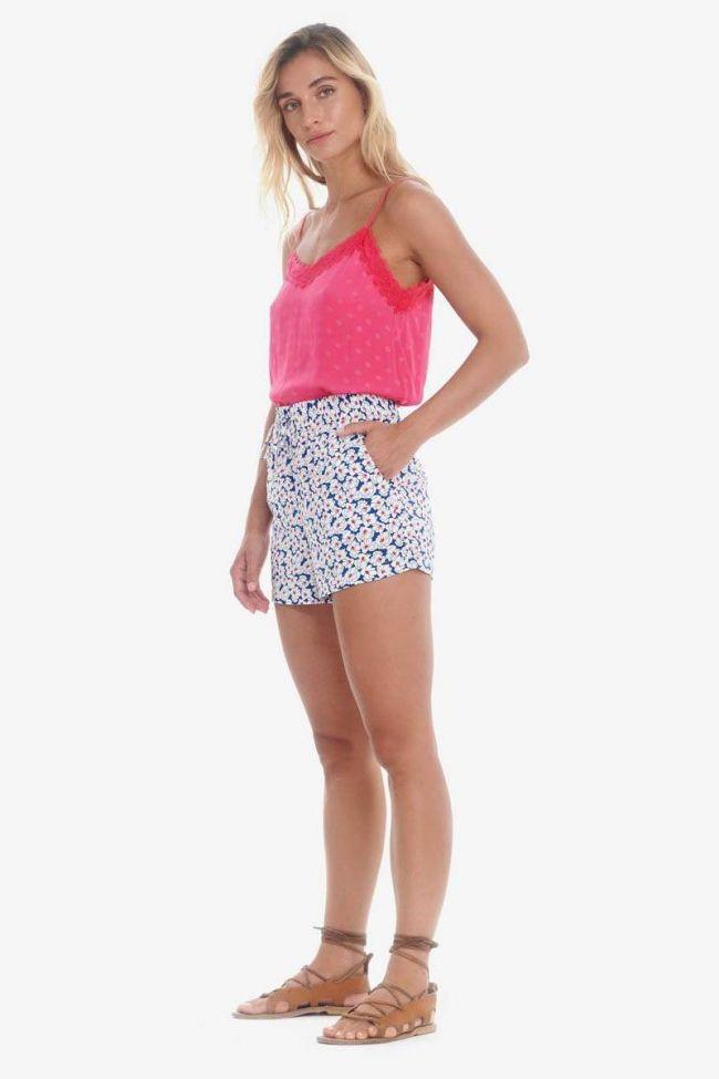 Floral pattern Riou shorts
