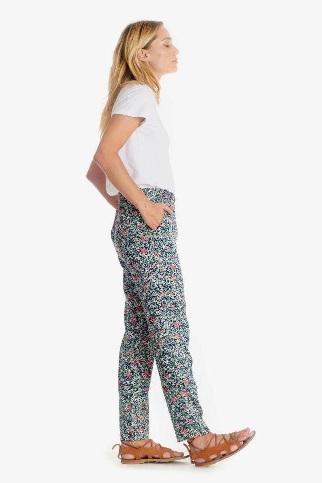 Almond floral pattern Selena trousers