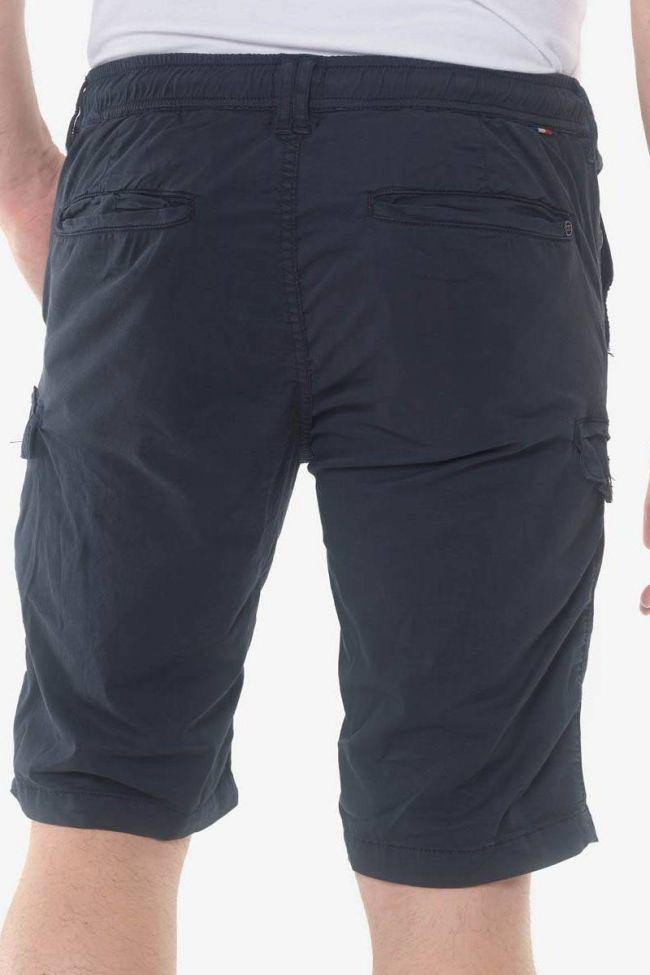 Navy blue Algo bermuda shorts