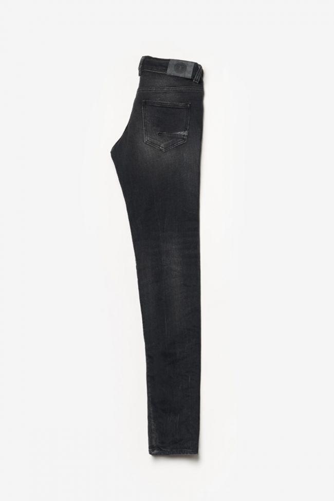 100/09 Basic slim jeans noir N°1