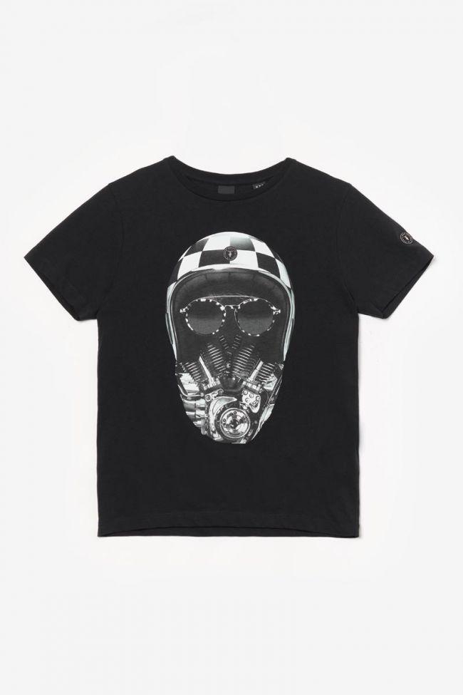 T-shirt Comanbo imprimé noir