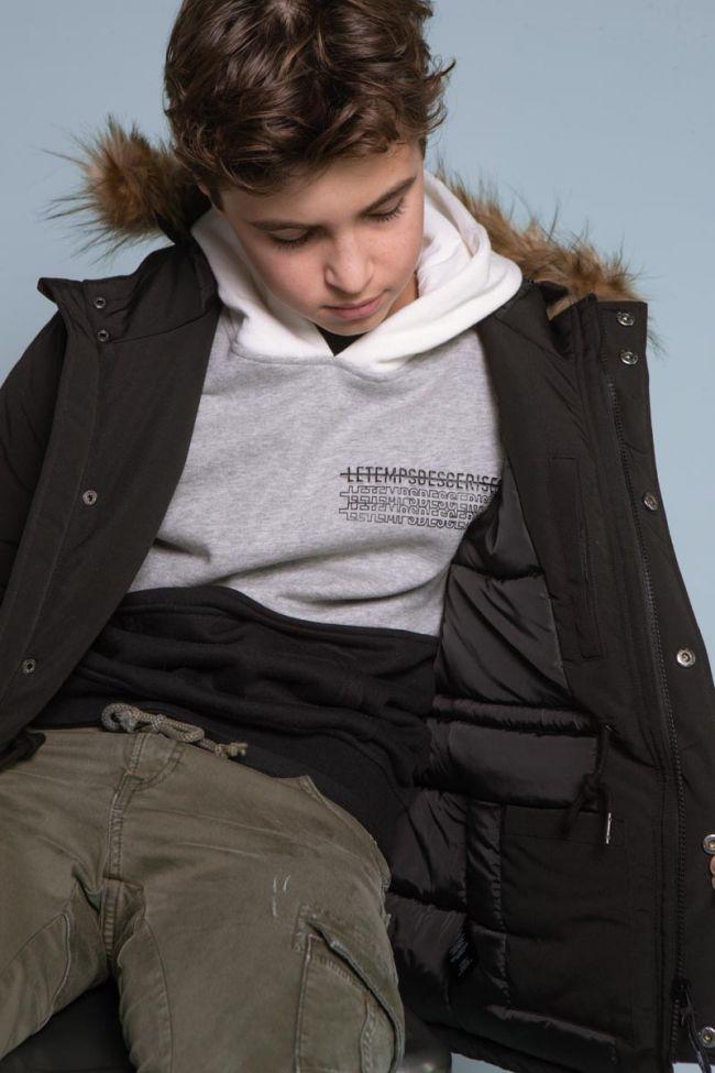 Three-tone Indianabo hoodie