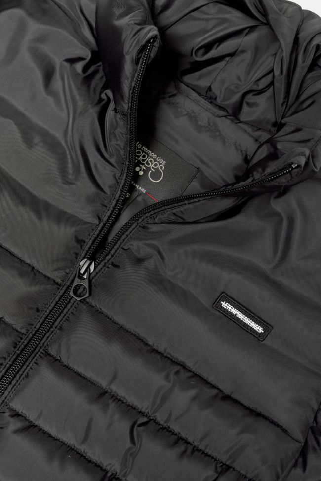 Black lightweight Oklabo down jacket