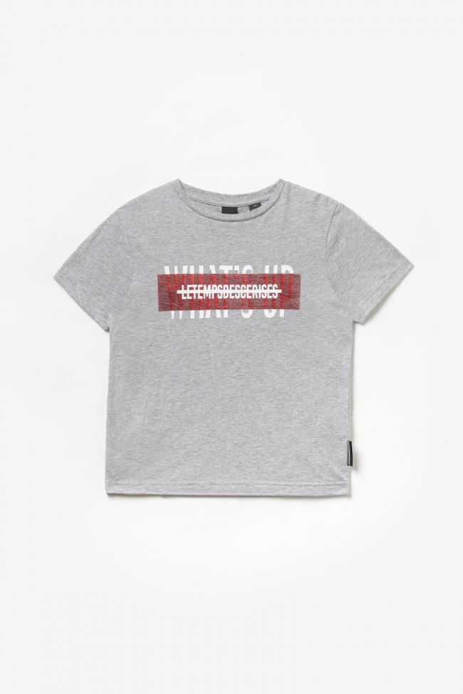 T-shirt Rodeobo imprimé gris