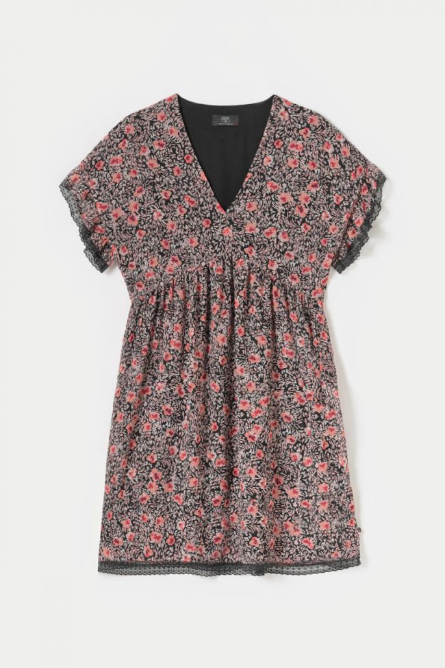 Pink floral Angie dress