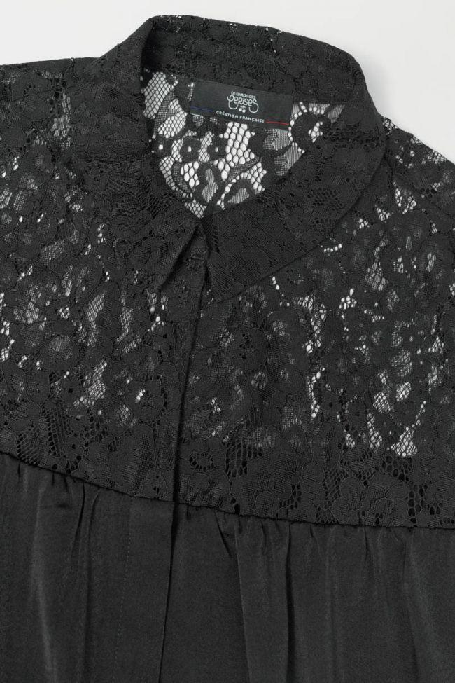 Black Arielle blouse