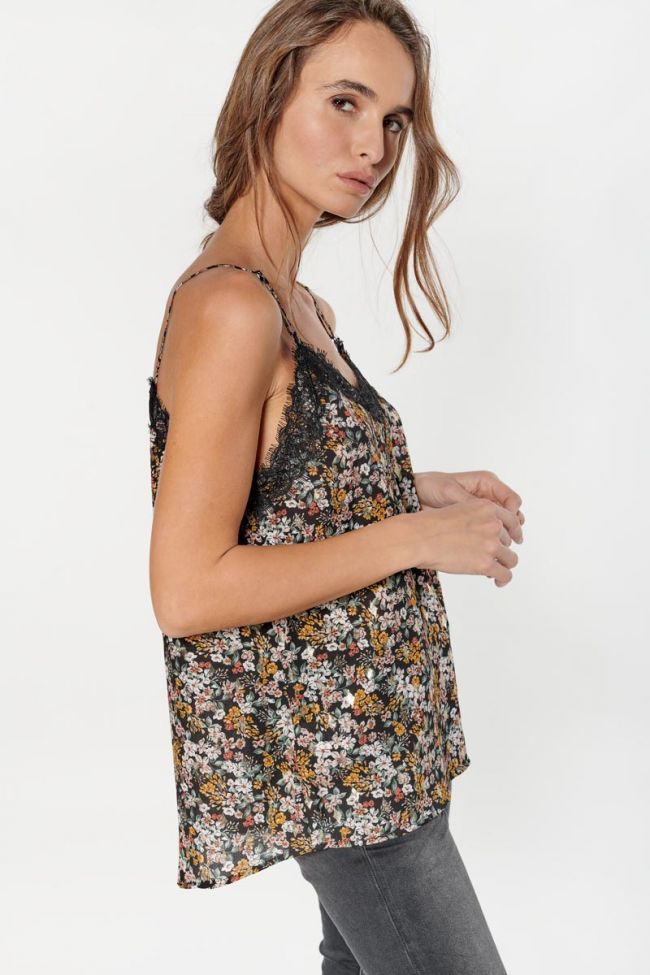Floral Bend camisole