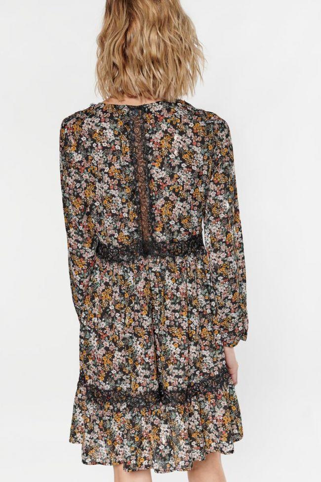 Robe Cetina à motif fleuri