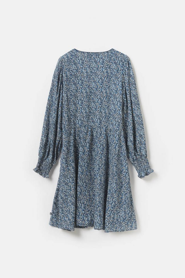 Blue floral Dickes dress
