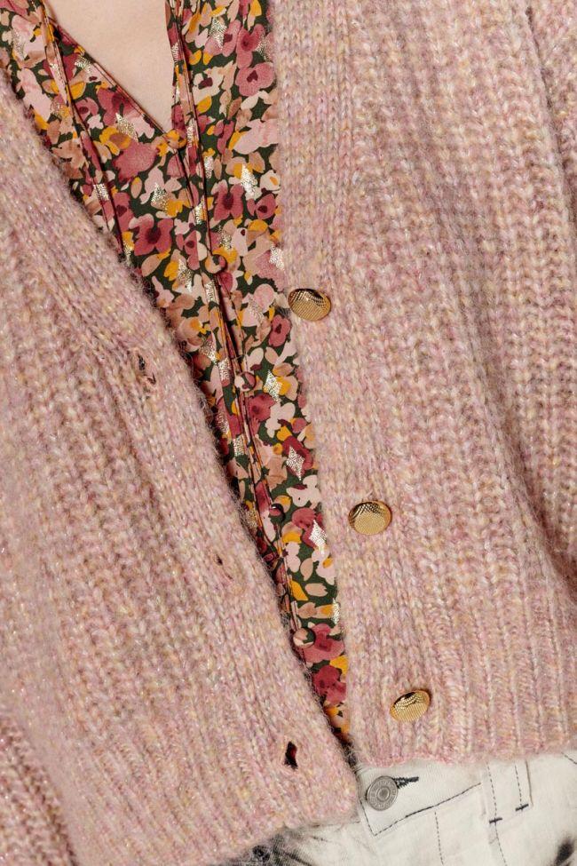 Pink Georgina cardigan