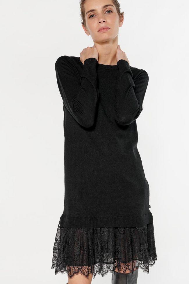 Robe pull Kandyla noire