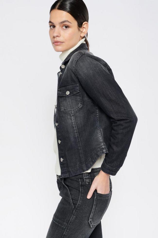 Black denim Lilly jacket