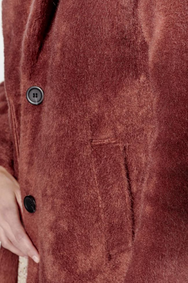 Manteau Lize vieux rose