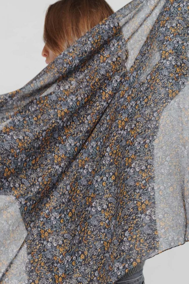 Floral Muse scarf