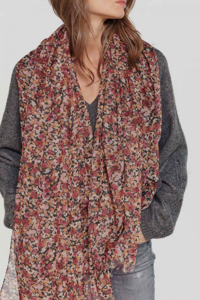 Pink floral Muse scarf