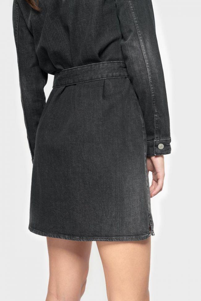 Black denim Nessi dress