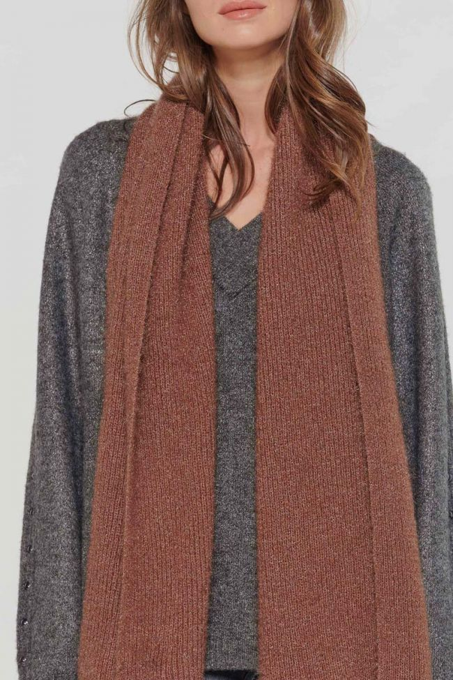 Camel Saja scarf
